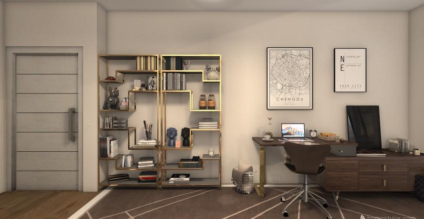 apartment in Europe Interior Design Render