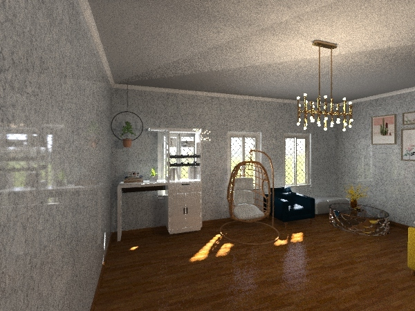 House Of Happiness Interior Design Render