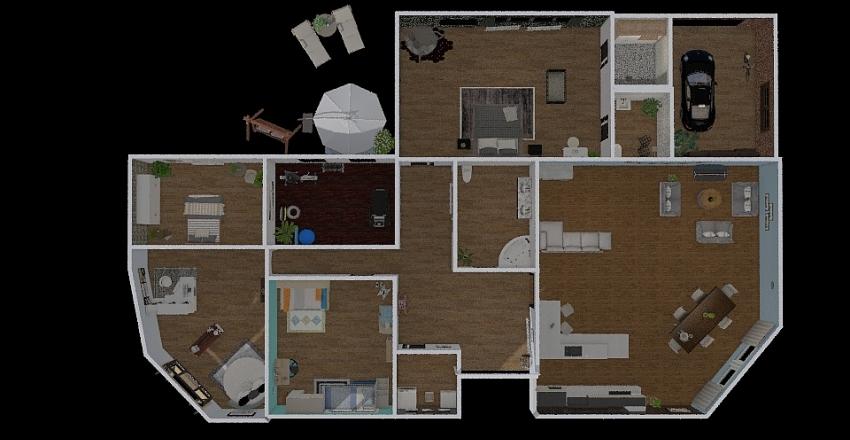 dream house in callander Interior Design Render