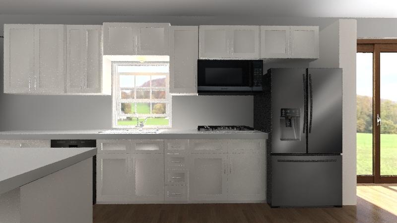 Kathys Kitchen Interior Design Render