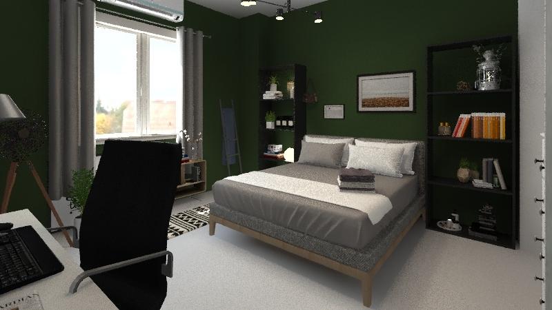 now room Interior Design Render