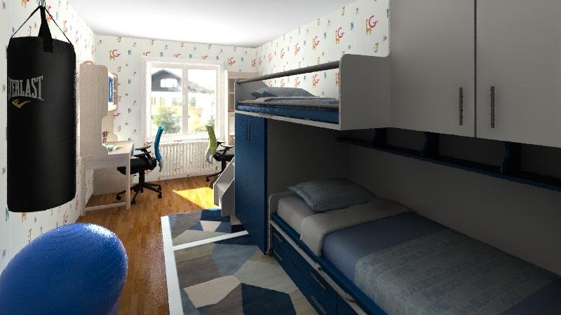 Float Interior Design Render