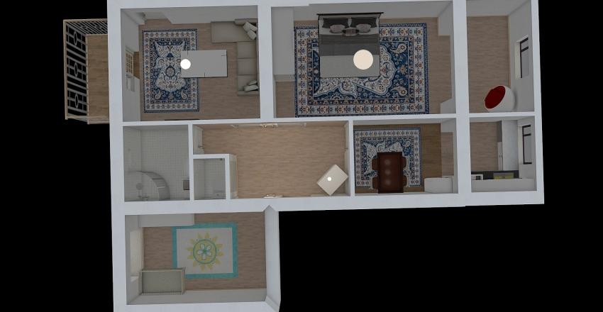 чкалова  Interior Design Render