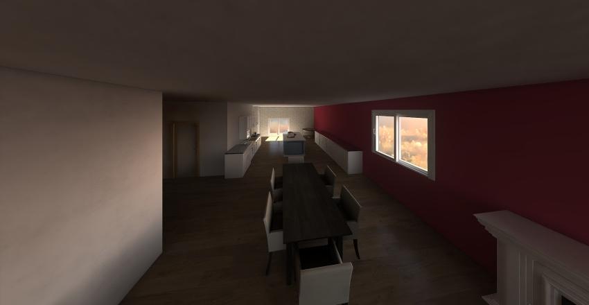 Chalet 11 Interior Design Render