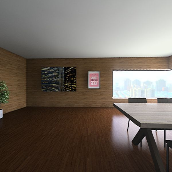 Contempary house Interior Design Render