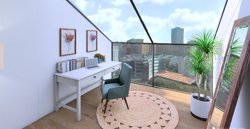Boho - coloring appartmen  Interior Design Render