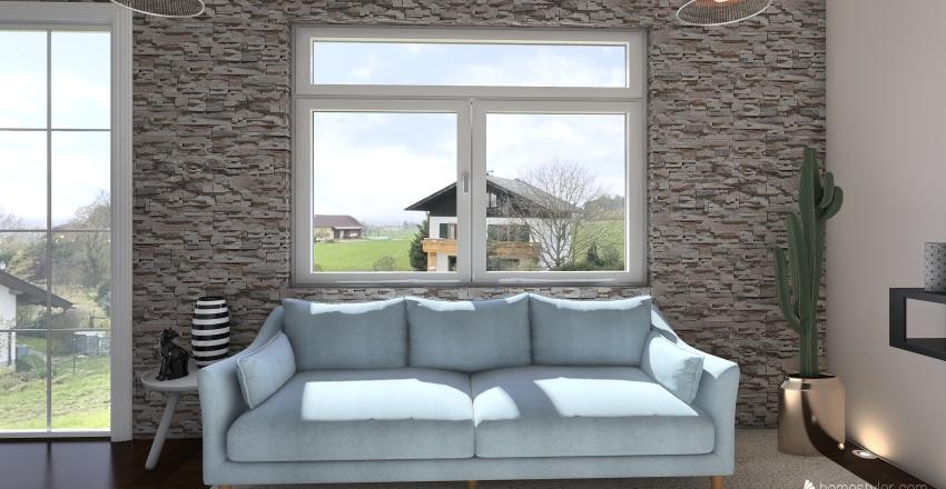 LIVING  Interior Design Render