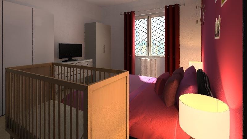 Casa Ilee primo piano Interior Design Render