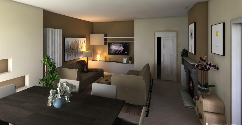 Appartamento Nuovo Interior Design Render