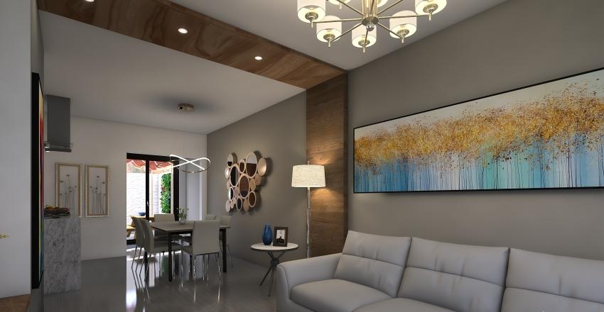 Casa Nova Canoas Interior Design Render
