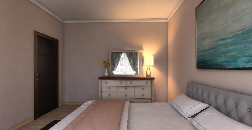 Flori's Second Floor Bedrooms Interior Design Render