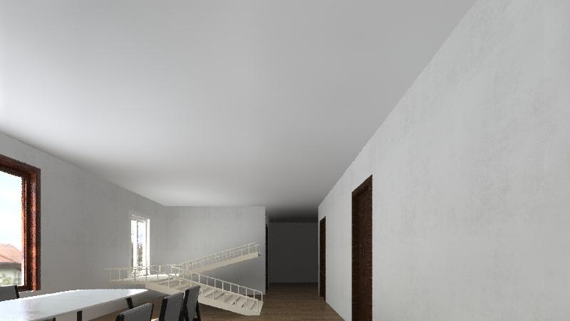 nhà cấp 4 Interior Design Render