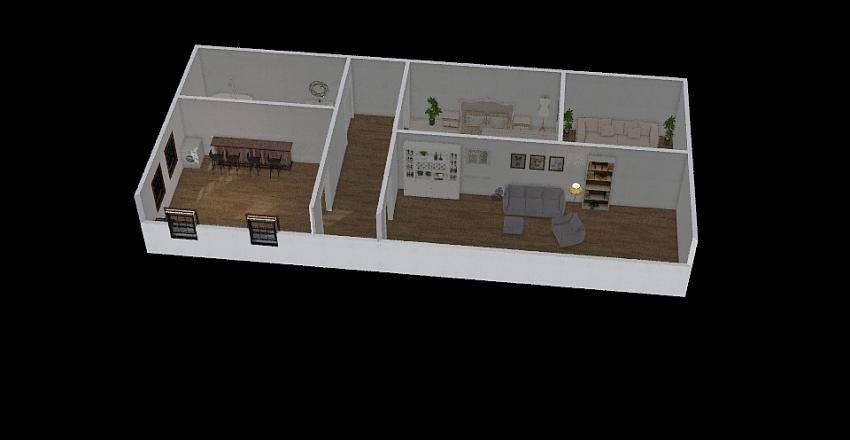 katies house Interior Design Render