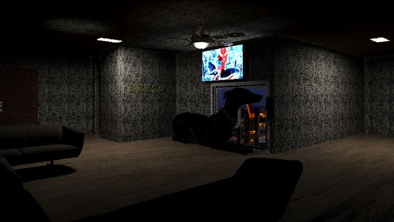 MTV Crib Interior Design Render