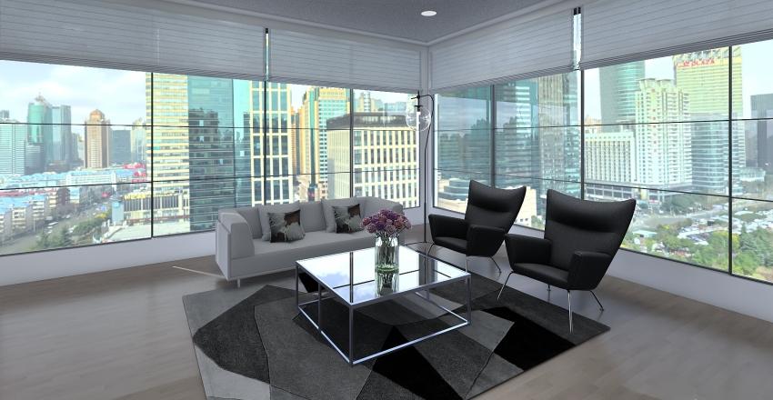 The High-Tech Apartment Interior Design Render