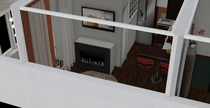My home go! Interior Design Render
