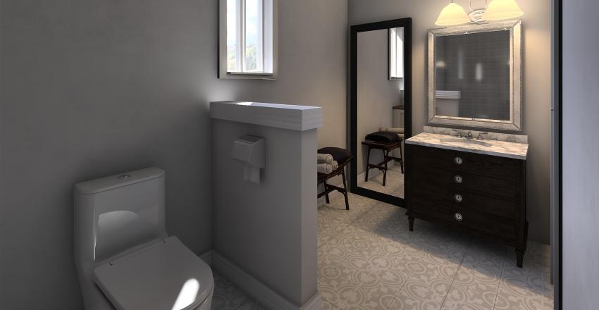 Bathroom Update Interior Design Render