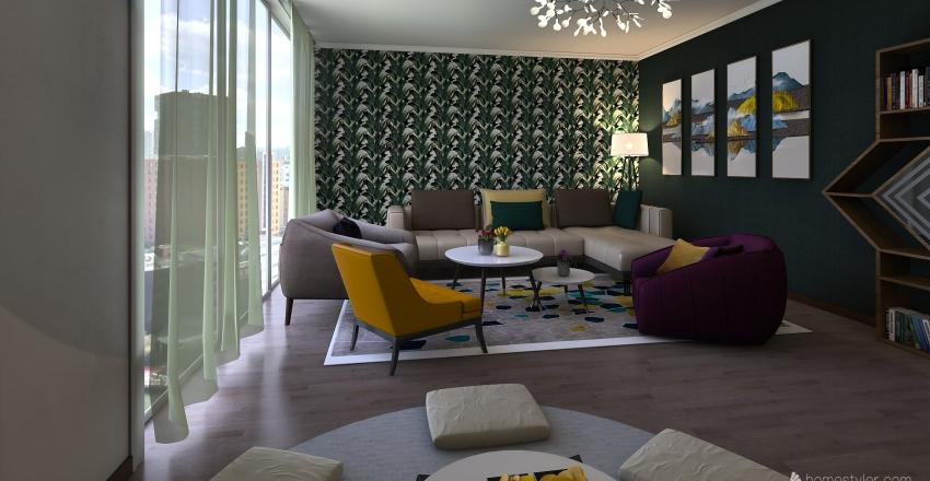 COLORS Interior Design Render