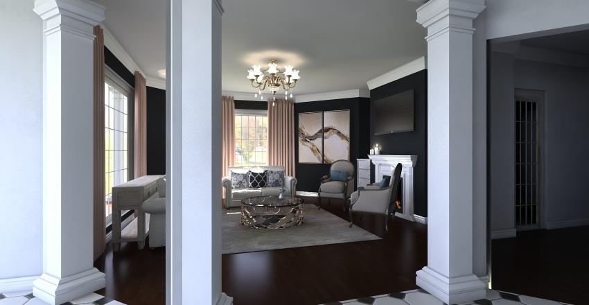 Dream Home 1 First Floor Interior Design Render