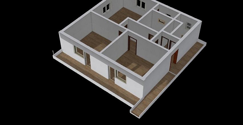 Trenutno + namještaj Interior Design Render