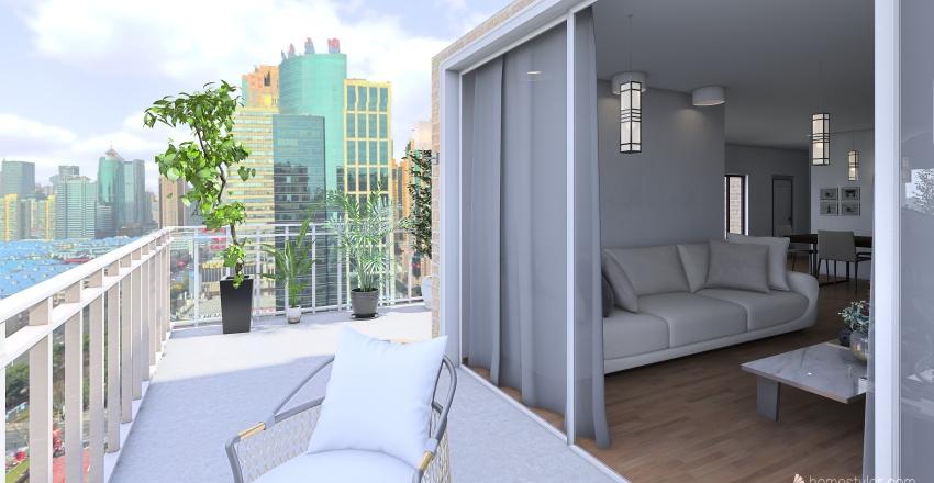 Leila's Apartment  Interior Design Render