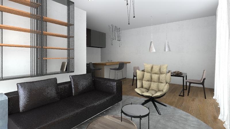 Oďa Interior Design Render