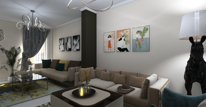 home ♥ Interior Design Render