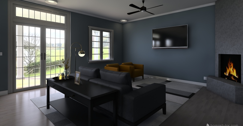 Another House-Small Interior Design Render