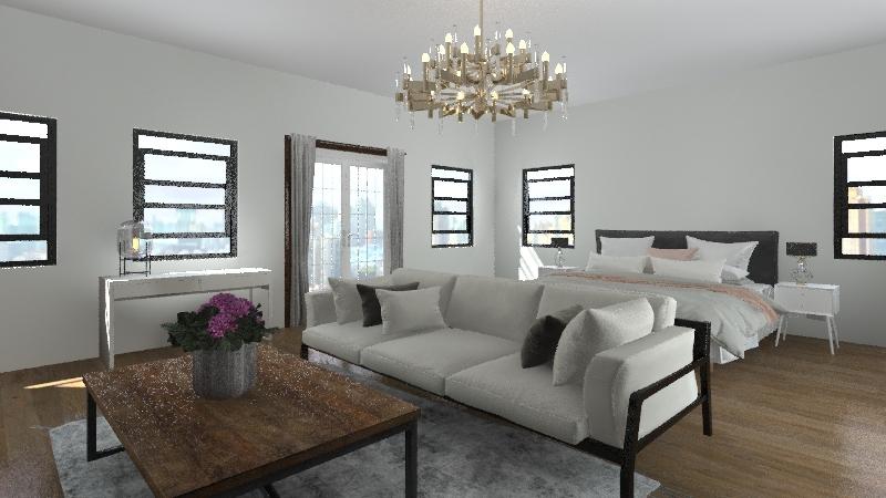 boston mansion Interior Design Render