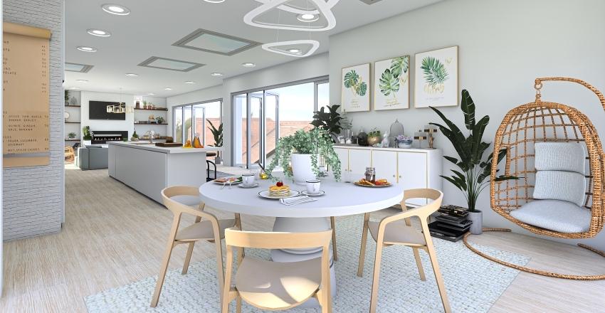 family home  Interior Design Render