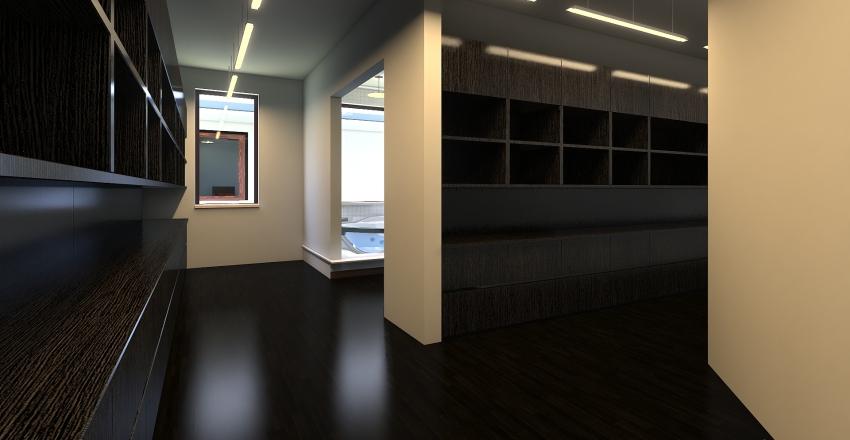 100 x 80 Barndominium Interior Design Render