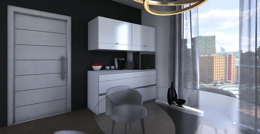 Business Luxury Suite Interior Design Render