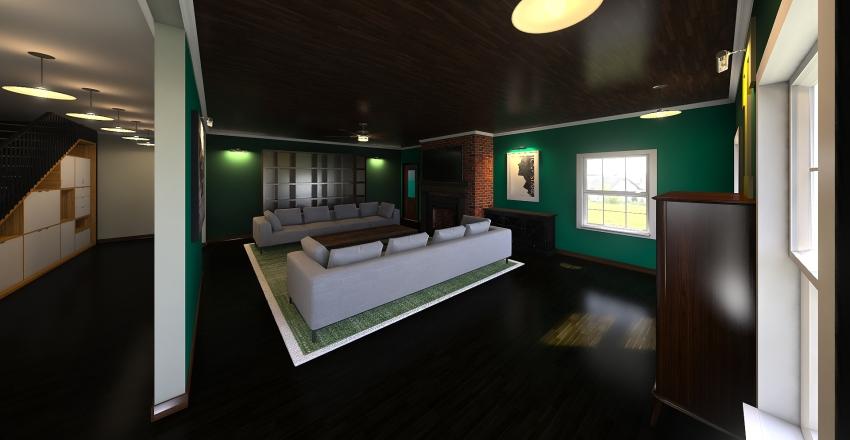 Dutch Colonial Interior Design Render