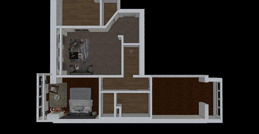 учебный урок планировка с меб Interior Design Render