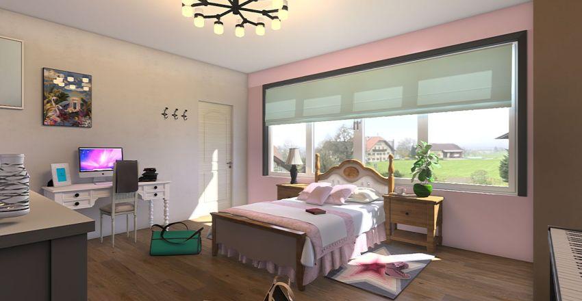 Emily's room Interior Design Render