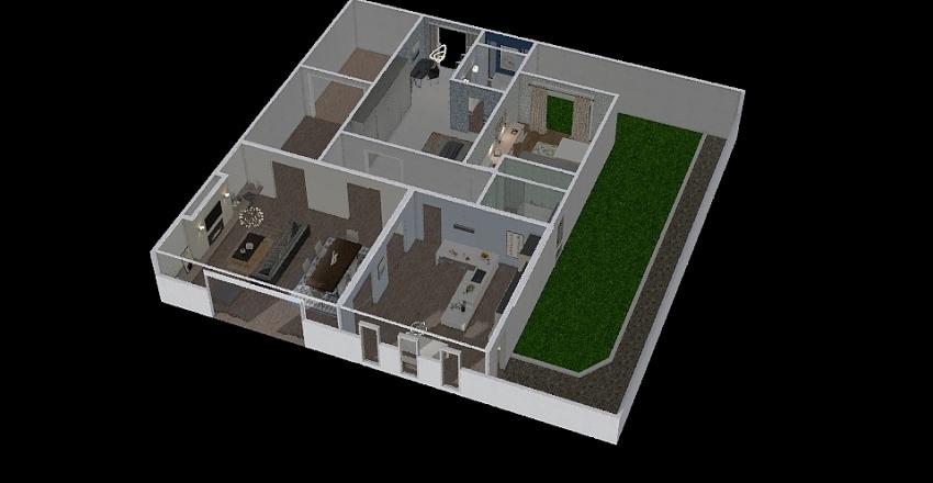 ines`s house Interior Design Render