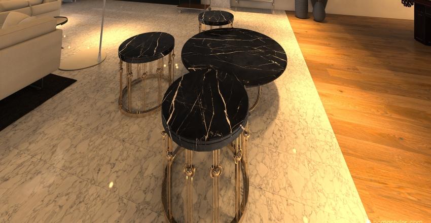 Cote D'Blanc Interior Design Render