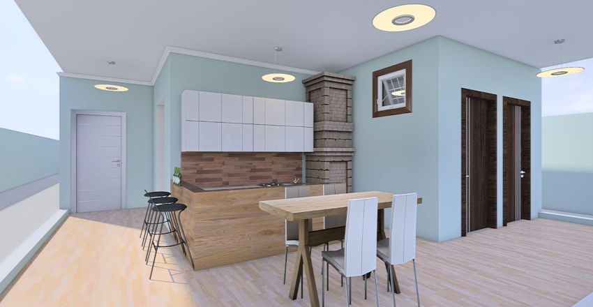 Projeto Helio e Nice Interior Design Render