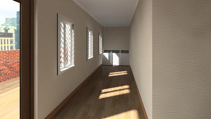 Dorm rooms Interior Design Render