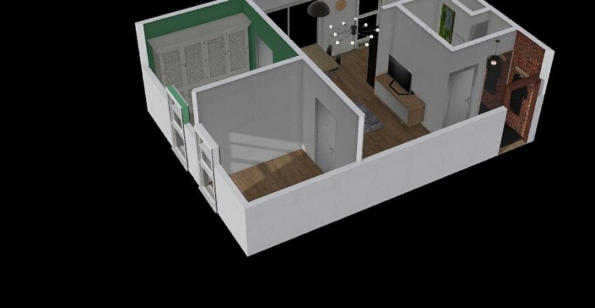 Mieszkanie  bazowe Interior Design Render