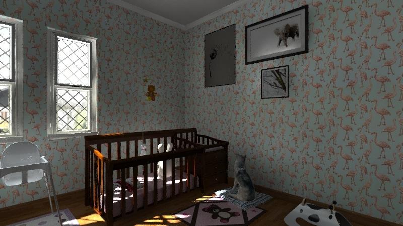 Chevone's house Interior Design Render