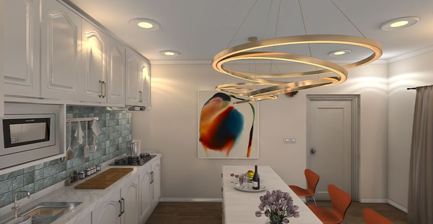 No#2 Interior Design Render
