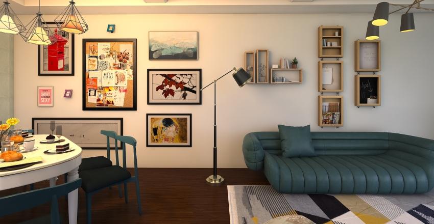 First dining room Interior Design Render