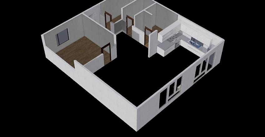 Sunny 1 Floor Interior Design Render