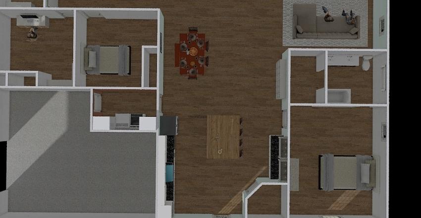 40by60 Interior Design Render