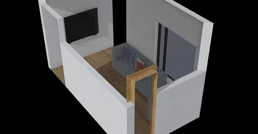 Sala Luiza Interior Design Render