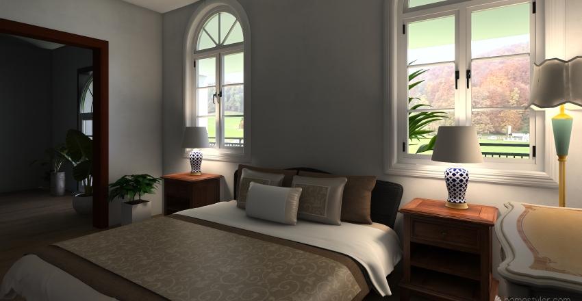 Casa_2nd_floor Interior Design Render