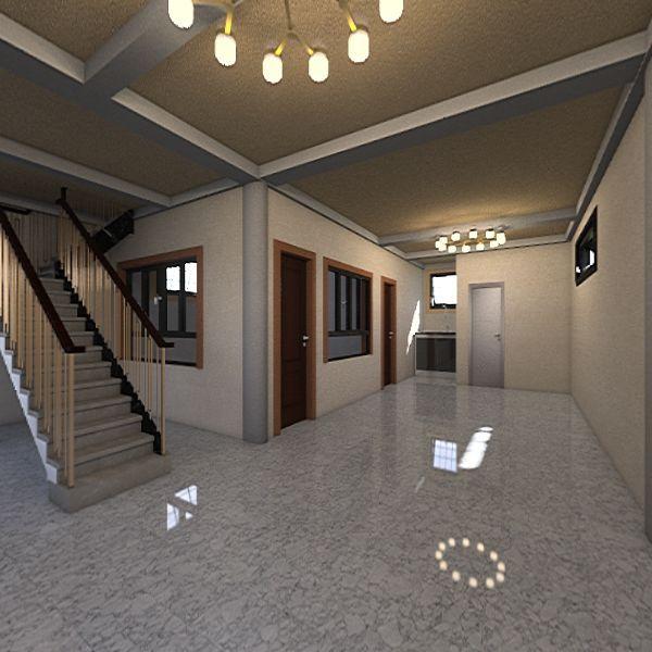 2nd floor building Interior Design Render