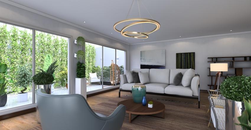 casa verde Interior Design Render