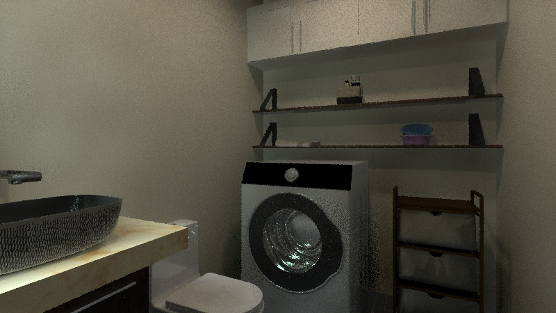casa rengo Interior Design Render